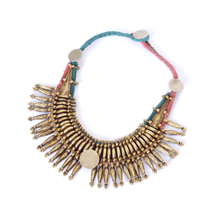 Tharu Tribe Antique Necklace