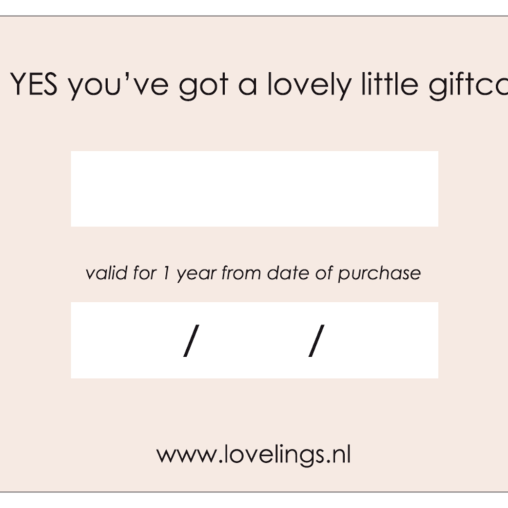 Lovely Little Gift Card (Email)