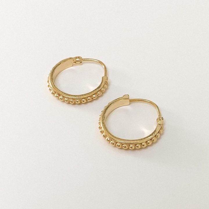 Medium Tribe Earrings GOLD