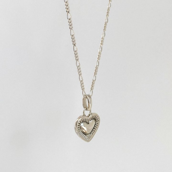 Burning Heart Necklace